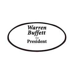 Buffett for President Patches