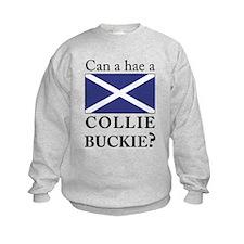 Collie Buckie with Saltire Sweatshirt