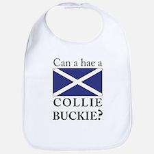 Collie Buckie with Saltire Bib