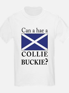 Collie Buckie with Saltire T-Shirt