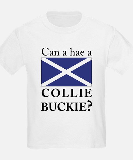 Collie Buckie with Saltire T-Shirt