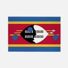 Flag of Swaziland Rectangle Magnet