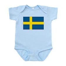 Swedish Flag Infant Creeper