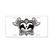 SunRidge Stables Aluminum License Plate