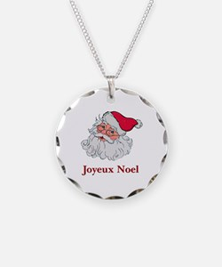 Santa Joyeux Noel Necklace