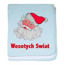Polish Santa baby blanket
