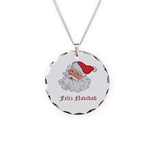 Spanish Santa Necklace