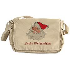 German Santa Messenger Bag