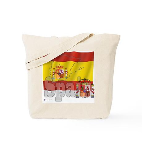 Silky Flag of Spain Tote Bag