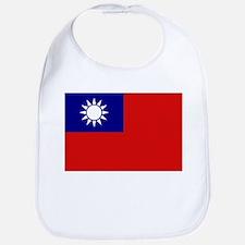 Taiwanese Flag Bib