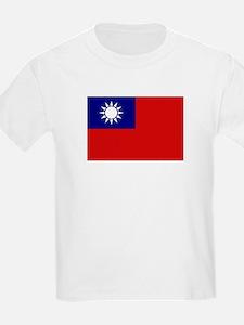 Taiwanese Flag Kids T-Shirt