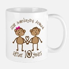 10th Anniversary Love Monkeys Mug