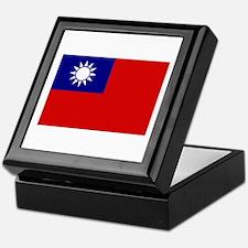 Taiwanese Flag Keepsake Box