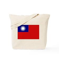 Taiwanese Flag Tote Bag