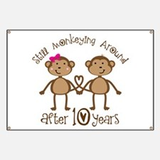 10th Anniversary Love Monkeys Banner