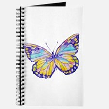 Purple Painted Butterfly Journal