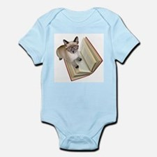 Kitten Book Infant Bodysuit