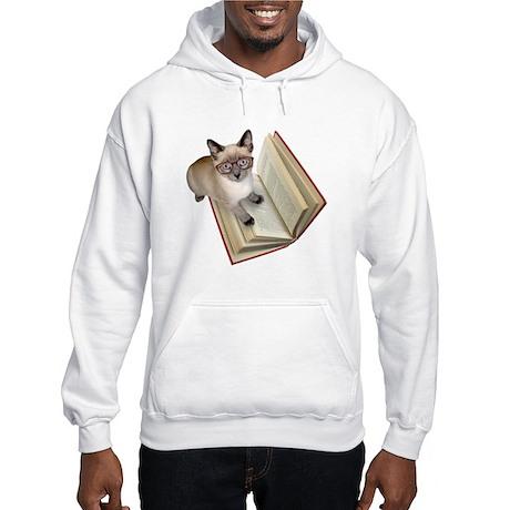 Kitten Book Hooded Sweatshirt