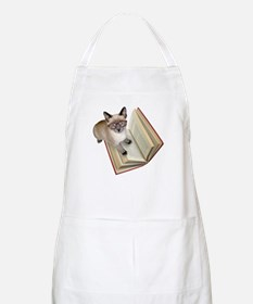 Kitten Book Apron