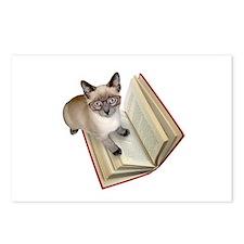 Kitten Book Postcards (Package of 8)