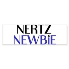 Nertz Noob Bumper Sticker