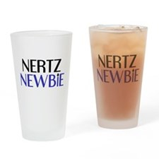Nertz Noob Drinking Glass