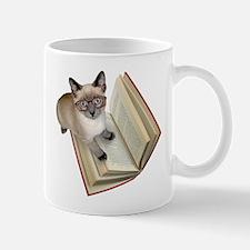 Kitten Book Mug
