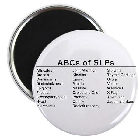 ABCs of SLPs Magnet
