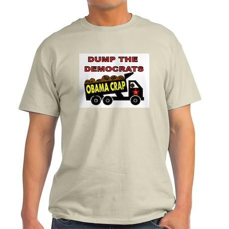 DUMP DEMOCRATS Light T-Shirt