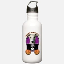 Just a Lil Spooky Whippet Water Bottle