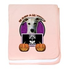 Just a Lil Spooky Whippet baby blanket