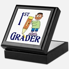 1st Grade Boy Keepsake Box