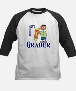 1st Grade Boy Kids Baseball Jersey