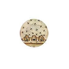 Funny Fashion illustration Mini Button