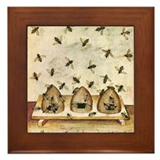 Cute Medieval Framed Tile