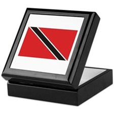 Trinidad & Tobago Flag Keepsake Box