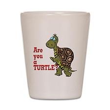 Walking Turtle Shot Glass