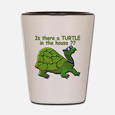 Male Turtle Shot Glass