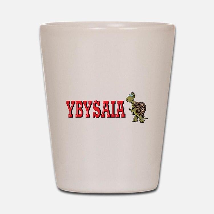 Running Turtle YBYSAIA Shot Glass