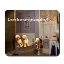 Privacy Labradoodles Mousepad