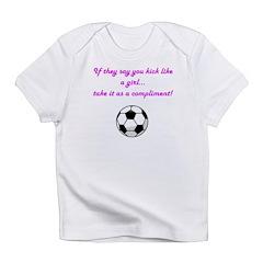 Kick-Like-A-Girl Infant T-Shirt