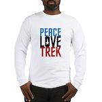 Peace Love Trek Long Sleeve T-Shirt