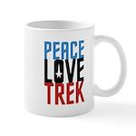 Peace Love Trek Mug