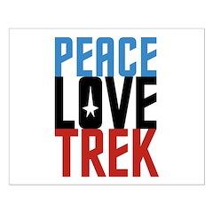 Peace Love Trek Posters