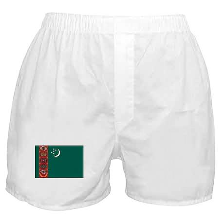 Turkmenistan Flag Boxer Shorts