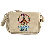 Re Elect Obama in 2012 Messenger Bag