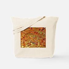 Balinese Glass Tile Art - BRN Tote Bag