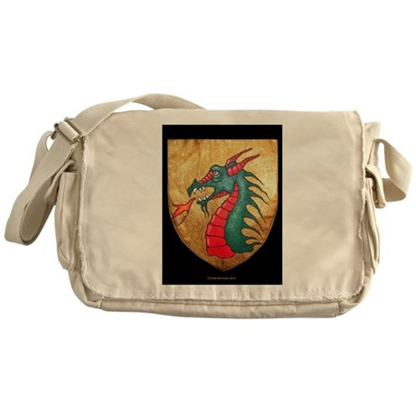 Dragon Shield Messenger Bag