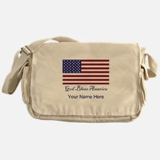 God Bless America Messenger Bag