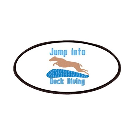 Jump Into Diving Dogs Patches